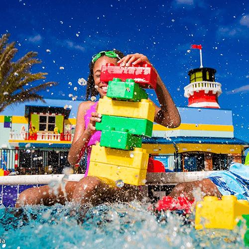 Legoland-water