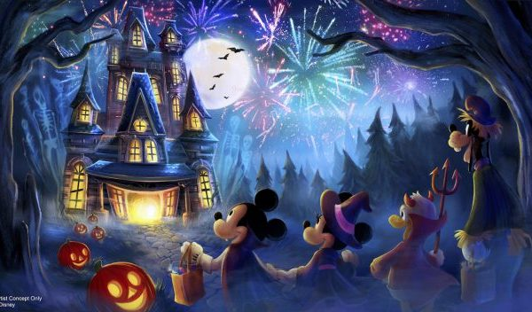 new fireworks show mickey not so scary halloween party