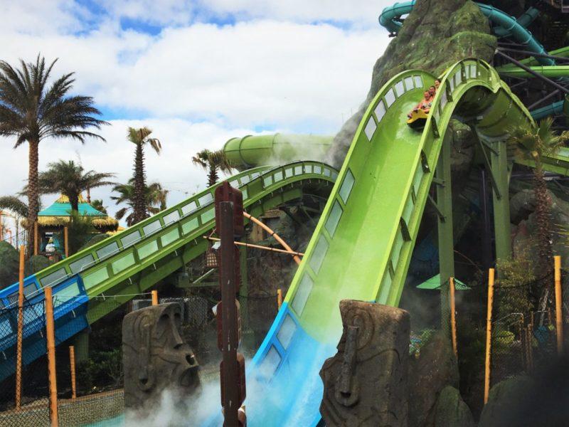 volcano bay rides