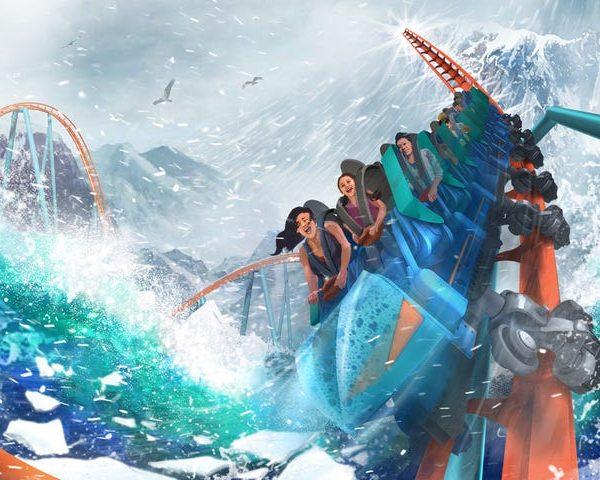 Ice Breaker roller coaster
