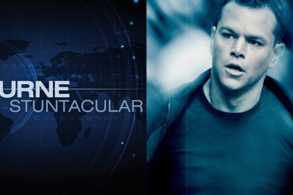 The Bourne Stuntacular